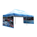 Promotional display folding canopy tents for exhibition