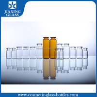 high quality 15ml easy open end cosmetic bottle glass vials