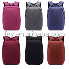 china supplier latest colors business fashion leisure backpack