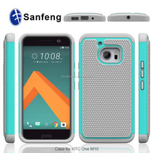 Hot Sale Silicone Plastic Case Shockproof Back Cover For HTC M10