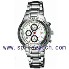 Top quality all stainless steel watch steel woven band watch