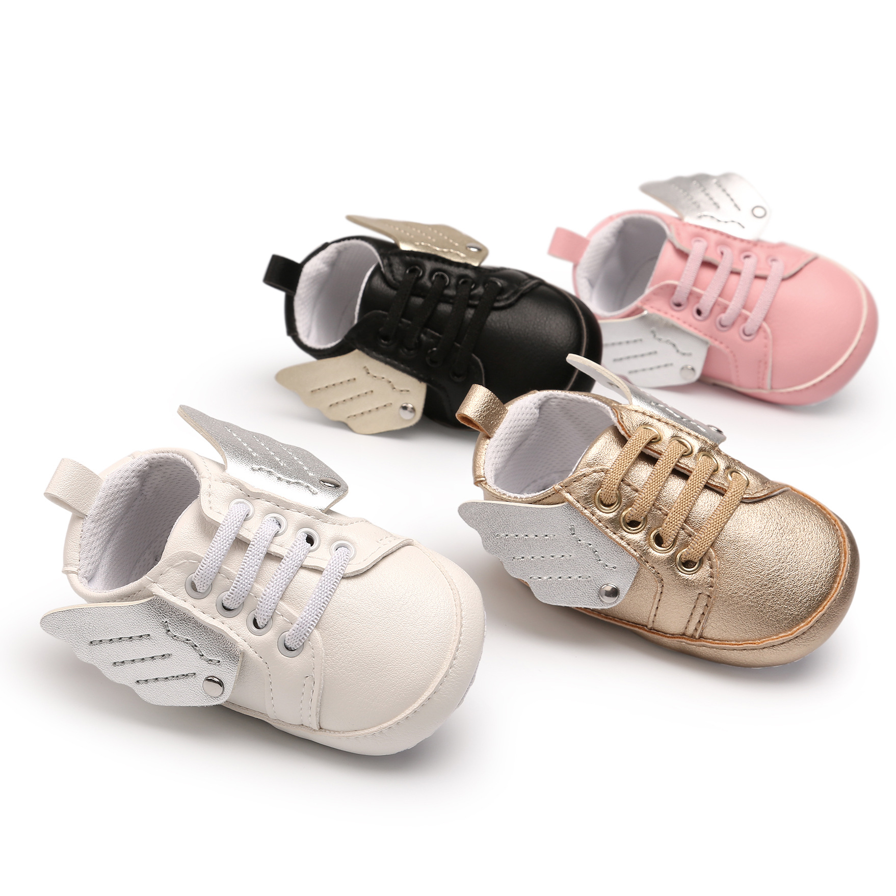 Wing Angle Casual Baby Shoes Girl First Walkers Baby Casual Shoes