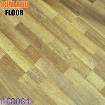 Wooden flooring parquet wood grain waterproof rubber laminate flooring hf8084 jiangsu flooring for Rubber laminate flooring