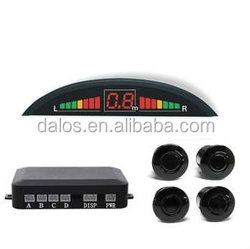 popular universal car parking sensor with three color led monitor alarm by bibi sound good price and easy install