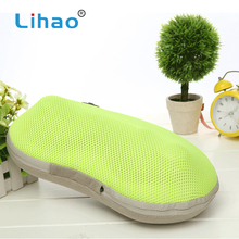 LIHAO Help To Sleep Neck Vibrating Relax Relaxation Body Massage Pillow Equipment