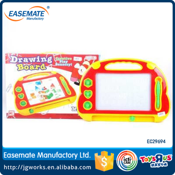 Color magnetic writing board doodle drawing board