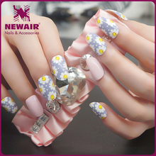 Cutom color DIY nail polish sticker strips with factory price wholesale