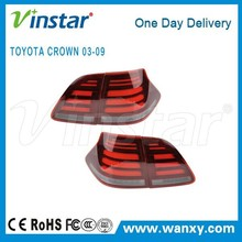 Shenzhen car accessories oe size high power LED tail Light For Toyota Crown 03-09