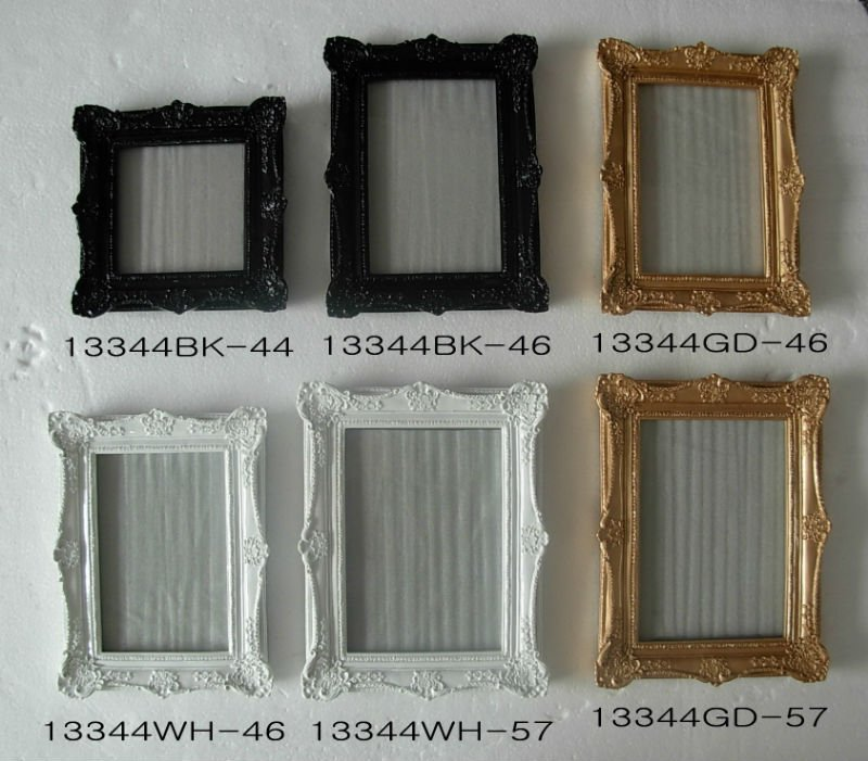 polyresin classical picture frame