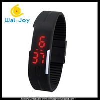 2015 latest promortional gift magnetic bracelet cheap LED digital watch (WJ-3226)