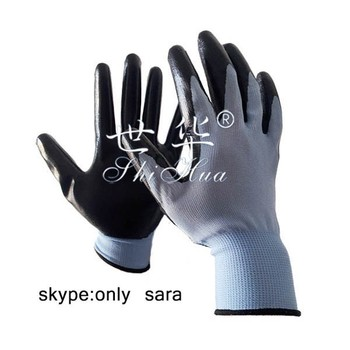 safety nitrile gloves for working