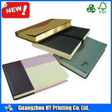 4-Color Process Chipboard Cover Notebook
