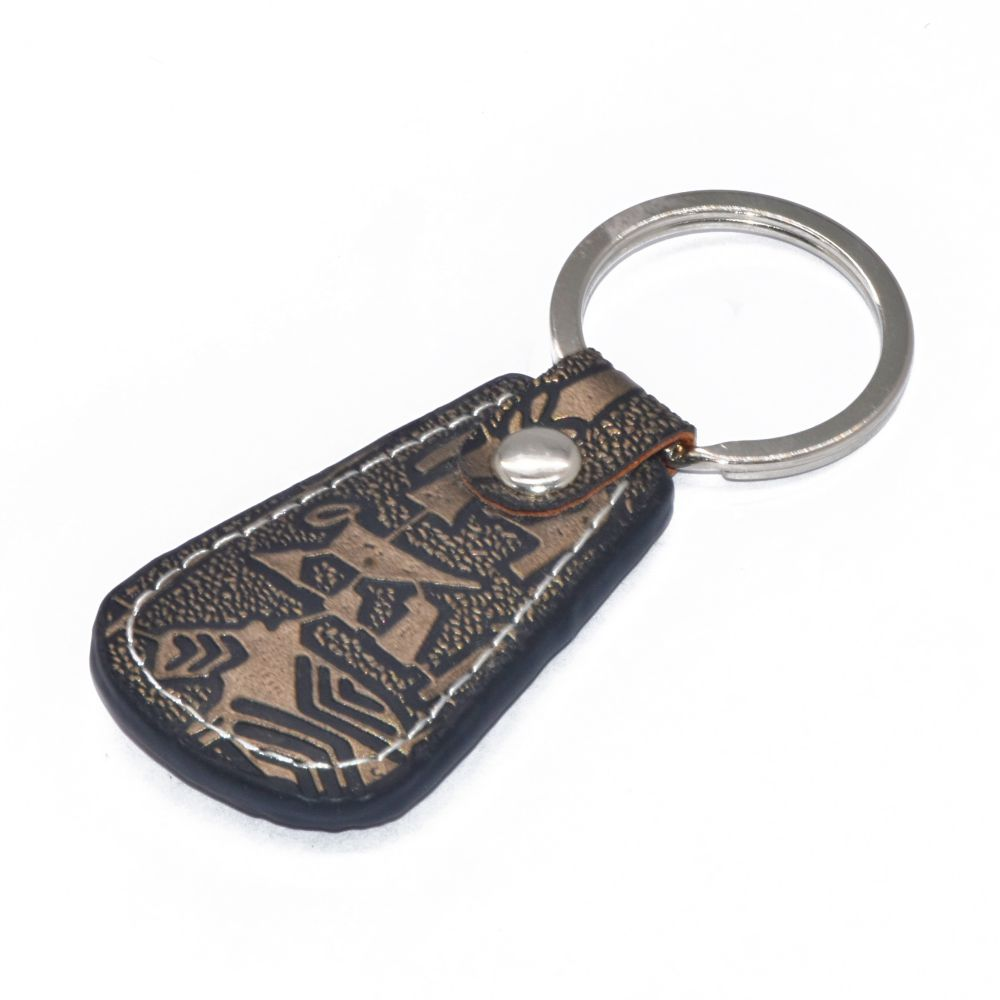 Christmas gifts car logo brand key holder custom blank cheap leather keychains gift innovative keychain