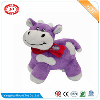 Cow walking animal happy hot sale super soft plush stuffed toy