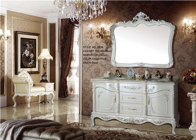 luxury wooden classic bathroom cabinet modern buy