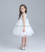 Hot Sale high -end sleeveless baby frock design pictures of 2-6 years