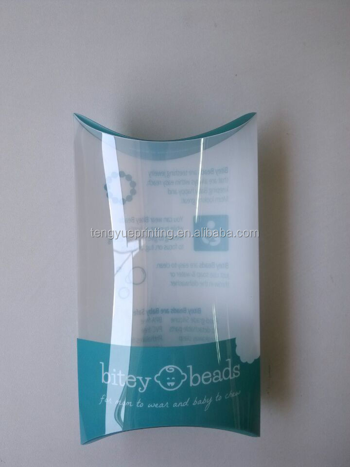 printed pillow case packaging/box pillow case/pillow case plastic packaging