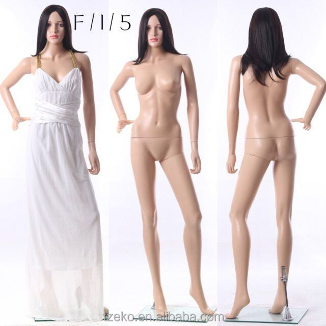 Cheap cheap cheap full body female mannequin with make up