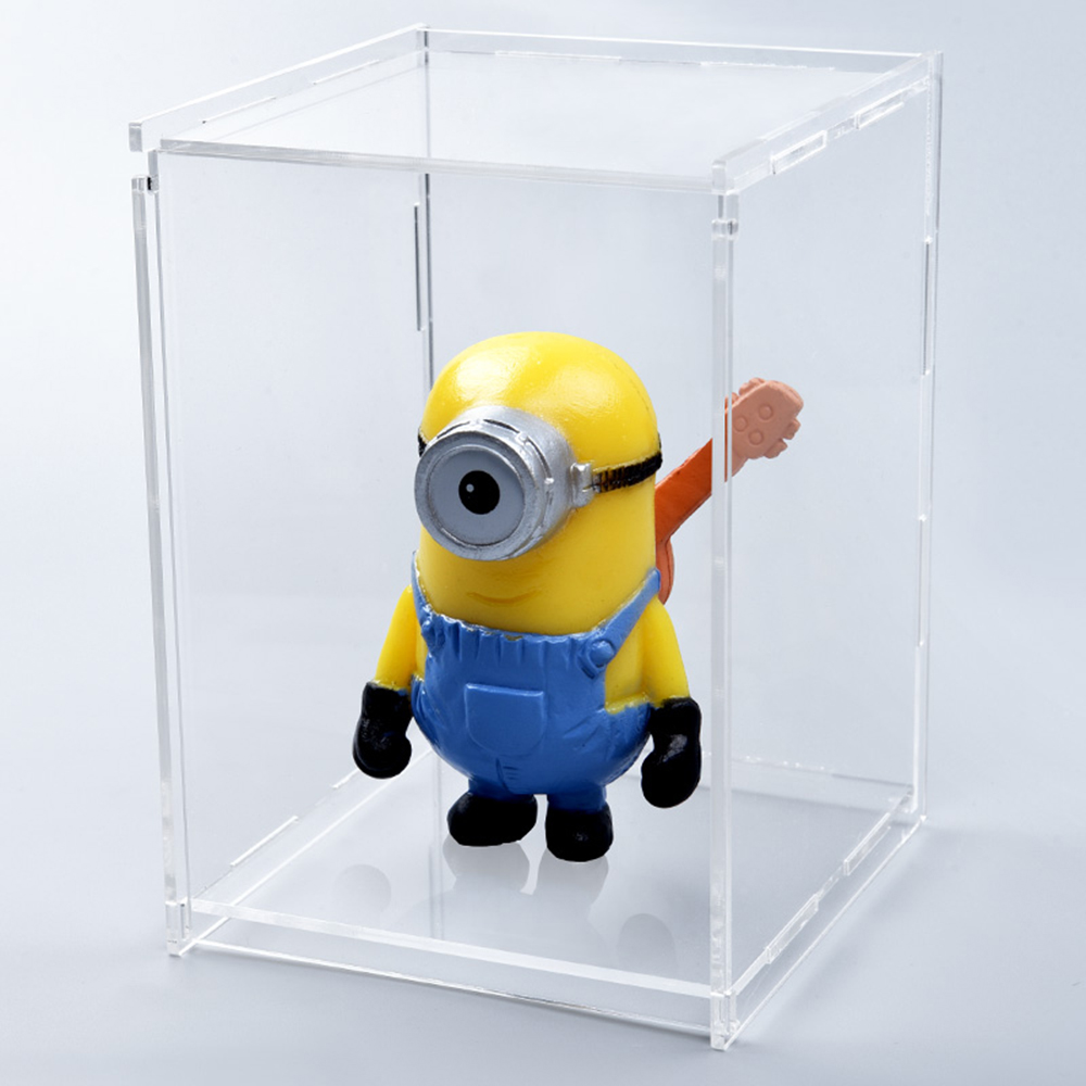 Latest custom made desktop clear mini figure toy acrylic lego <strong>display</strong> case