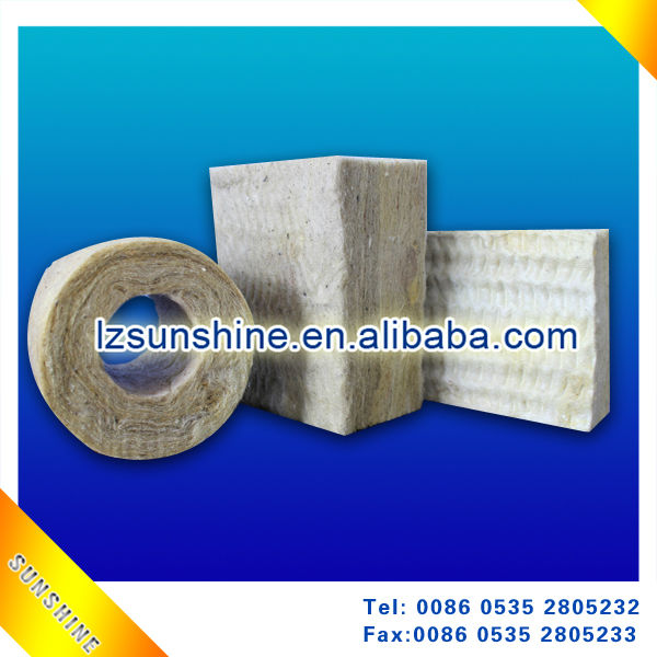 High Density Rock Wool Board For Exterior Wall Insulation