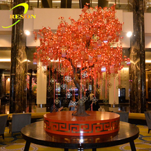 2015 china best products white lighted branch tree