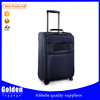 Classical black color men's business trolley luggage with large packing capacity