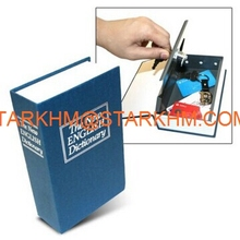 Mini Cheap Key book safe/Book Safe Secret Book Shape Box With Combination lock