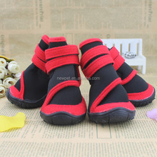 Factory direct latest design pet products pet shoes no-skid sole pet dog boots and socks