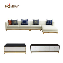 Modern leather sofa living room <strong>furniture</strong> for