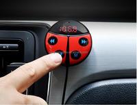 2017 Newest Beatles Bluetooth FM Transmitter Mini Wireless Handsfree Bluetooth Car Kit
