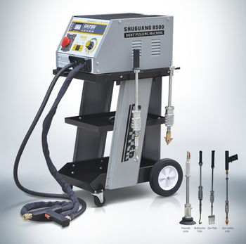 Car Repair Use Spot Welding Equipment