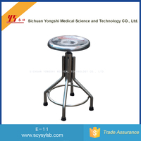Hospital Furniture Simple Stainless Steel round doctor Nursing Stool