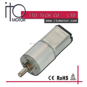16mm micro dc gear motor 500 rpm with low voltage buy dc for Gear motor 500 rpm
