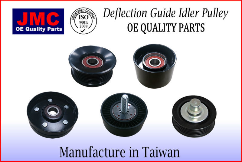 JMMS-PB031 Deflection Guide Idler Pulley for SMART FORFOUR COLT DIESEL SK008942P/2 A6392000370