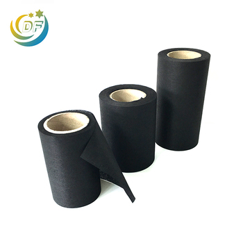 Carbon filter fabric activated fiber felt mat active non woven active nonwoven filtration cloth