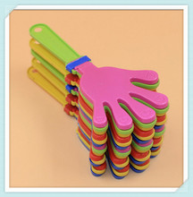 Hot Selling Cheap Promotion Noise Maker Plastic Hand Clapper