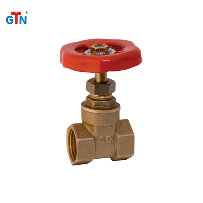 F/F brass gate valve with prices