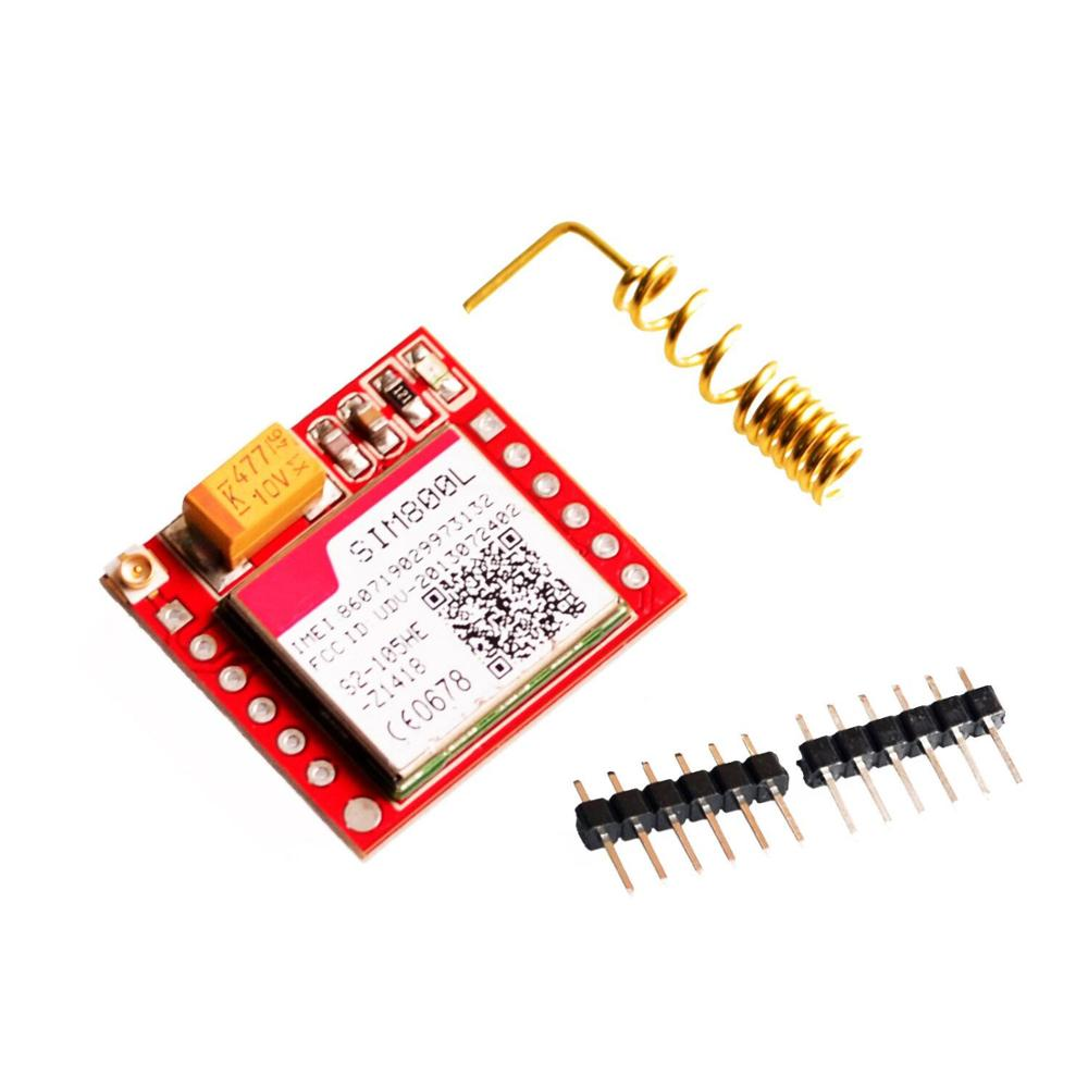 Mini Smallest SIM800L GSM GPRS <strong>Module</strong> with Antenna MicroSIM Card Core Wireless Board Quad-band TTL Serial