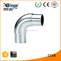 Anti rust stainless steel pipe bend 90 degrees