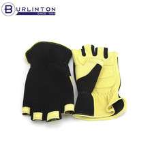 Wholesale neoprene pad Framing leather working gloves