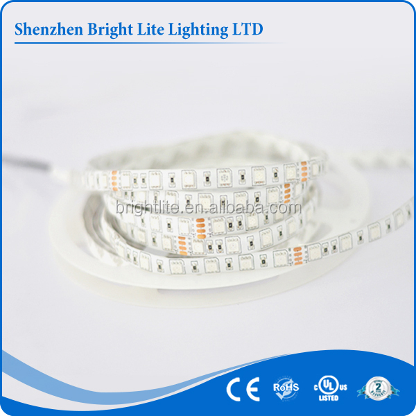 5050 Waterproof IP65 Yellow color 60led UL certificate led emergency light strip bar
