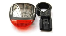 Queena Bicycle Cycling Bike 2LED Red Solar Powered Rear Flashing Tail Light