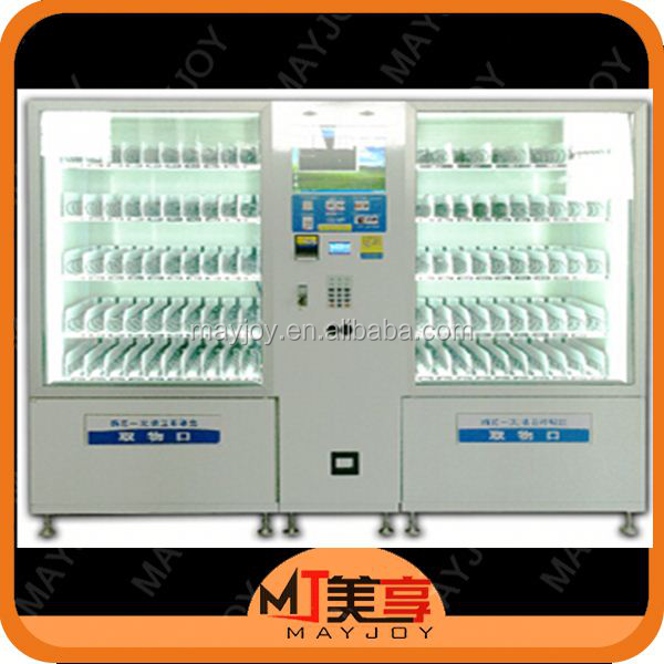 ISO certificated modern designed personalized MJ-06 vending machines soda and snack