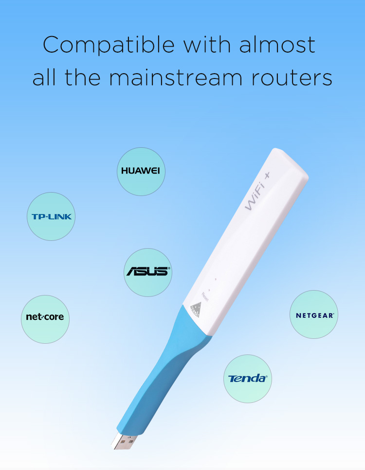 MELON TS710,150Mbps and 2.4GHz pocket wireless repeater USB wifi extender