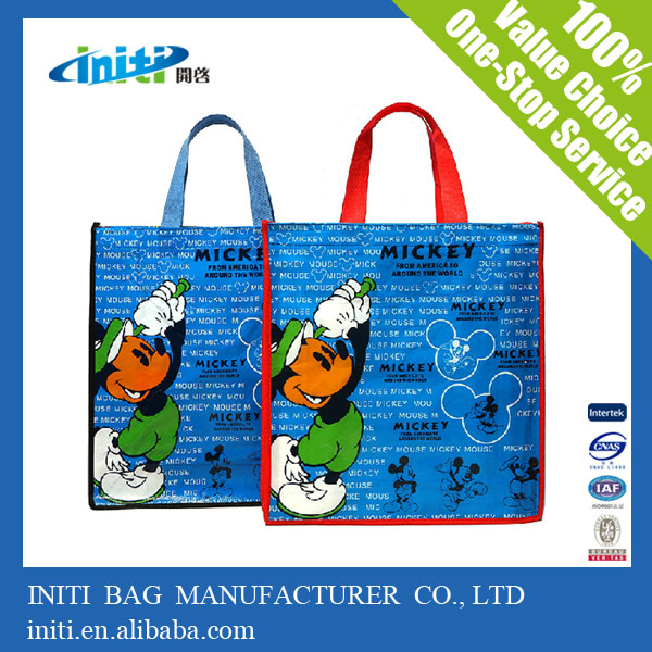China Manufacturer Custom Design Durable PP Woven Shopping Bag