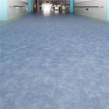 No wax, no polish for life customized green pvc vinyl floor for Offices