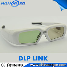 cool stylish recharge bluetooth video active shutter 3d glasses for export