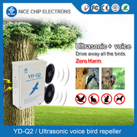 Ultrasonic bird repeller