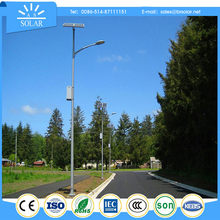 portable solar barricade led street light