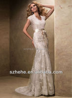 TT84 new arrival sexy elegant jewel lace long women dress wedding dress